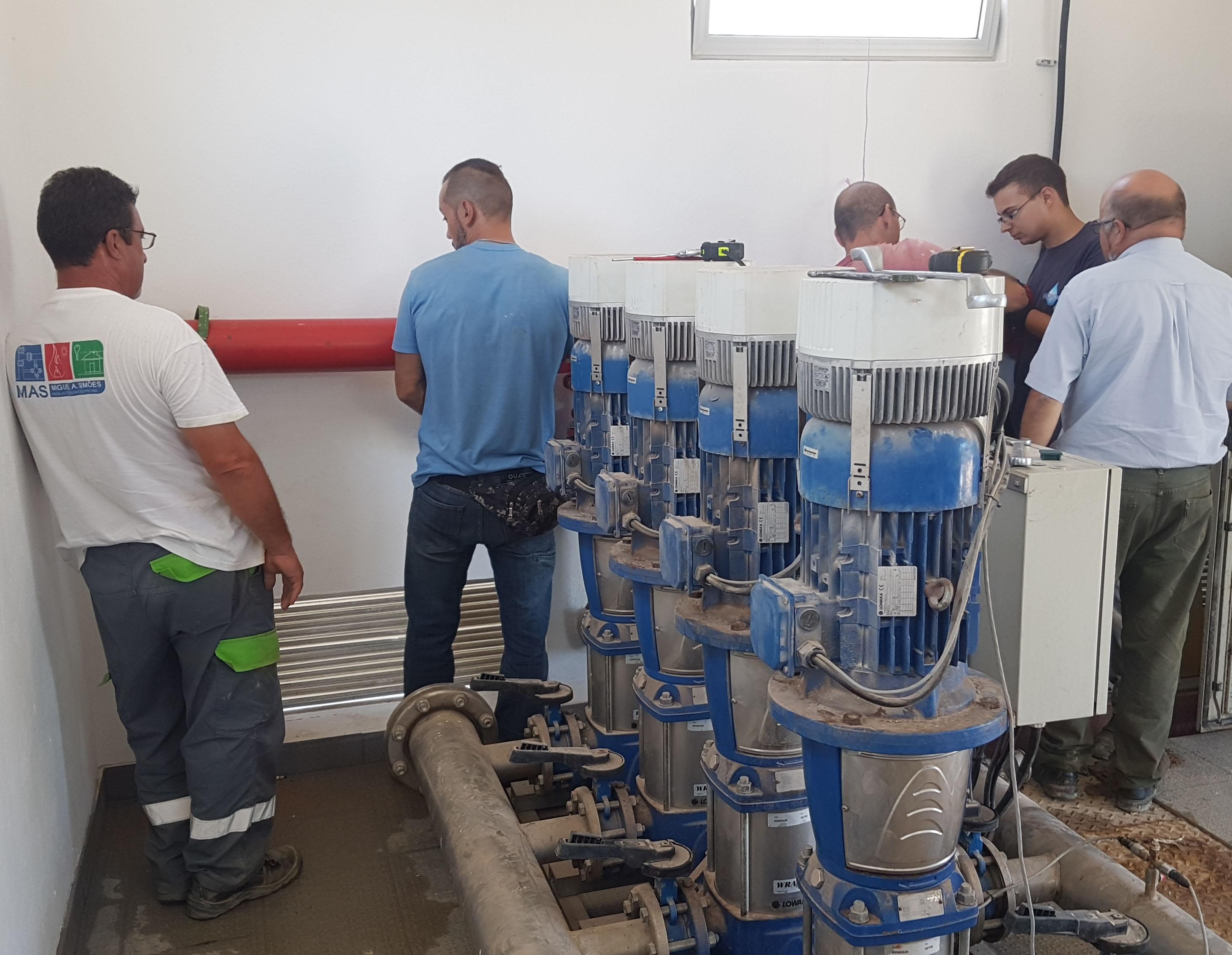 Reabilitação Rede de Distribuição de água