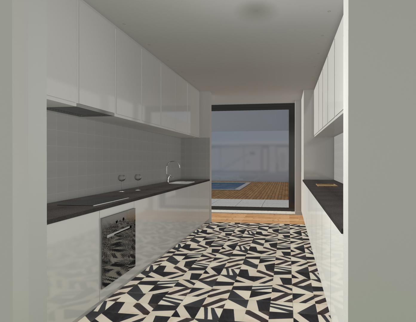 Construção de Moradia - Cozinha